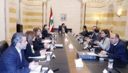 دياب ترأس الاجتماع الخامس للجنة الوزارية المكلفة صياغة البيان الوزاري