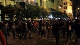 مواجهات بين محتجين والاجهزة الامنية في وسط بيروت
