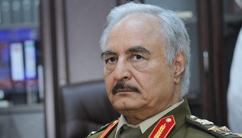 حفتر: ليبيا تتعرض لخطر داهم من خلال الاستعمار التركي البغيض