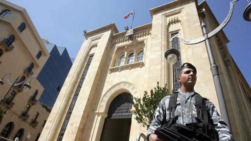 شرطة مجلس النواب نفت علاقتها بحرق الخيم في وسط بيروت