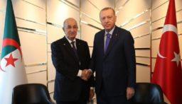 لقاء مغلق بين أردوغان وتبون في برلين