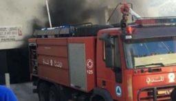 الدفاع المدني سيطر على حريق إندلع في خراج بلدة المعنية بالطرق اليدوية