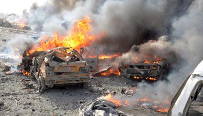 انفجار سيارة مفخخة بمدينة تل أبيض السورية وأنباء عن قتلى مدنيين (فيديو)