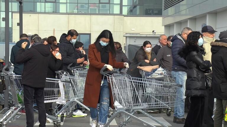 إيطاليا تسجل 718 وفاة و18938 إصابة جديدة بكورونا