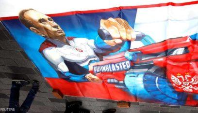 """بوتين الخارق"""" يغزو شوارع إسطنبول…"""
