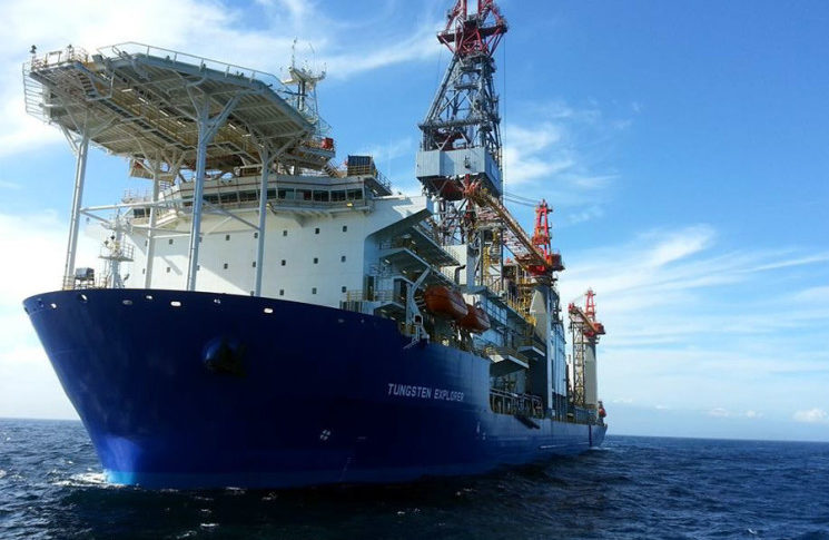 """سفينة الحفر """"Tungsten explorer"""" وصلت إلى المياه اللبنانية"""