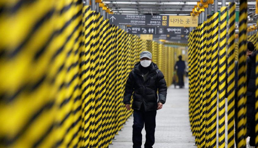 كوريا الجنوبية تعلن 161 حالة إصابة جديدة بفيروس كورونا