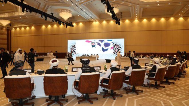 """أميركا و""""طالبان"""" يستعدان للتوقيع على اتفاق سلام في الدوحة"""