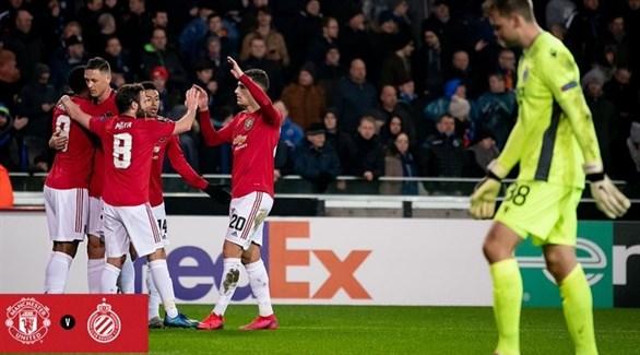 مانشستر يونايتد وإنتر يقتربان من دور الـ16 بالدوري الأوروبي
