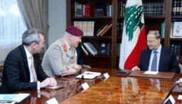 الرئيس عون ل لوريمير: الازمة الاقتصادية والمالية في لبنان موضع معالجة وصندوق النقد الدولي سوف يقدم خبرته التقنية