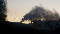 مجهولون أحرقوا إطارات ونفايات في خراج عاصون