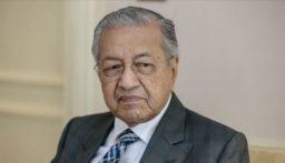 استقالة رئيس وزراء ماليزيا مهاتير محمد