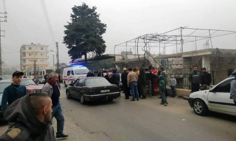 جريح نتيجة حادث سير في سير الضنية