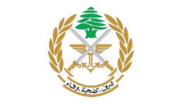 الجيش: إقفال معابر غير شرعية وتوقيف مواطن