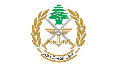 الجيش: اصابة ضابط من فوج الحدود البري الثاني بفيروس كورونا وأخذ الإجراءات اللازمة
