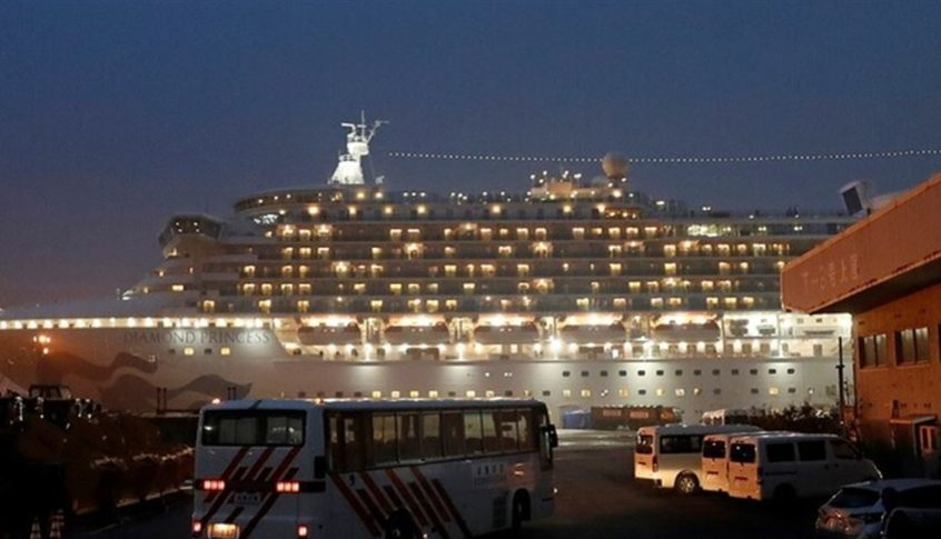 """""""الصحة الإسرائيلية"""" تؤكد إصابة 3 حالات على متن سفينة """"دايموند برينسس"""""""