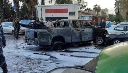 جريحان اثر انفجار عبوة ناسفة داخل سيارة وسط دمشق