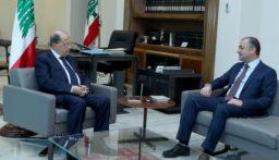 الرئيس عون استقبل بو صعب واجرى معه جولة افق تناولت التطورات السياسية الاخيرة