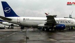مطار حلب الدولي يستقبل أول رحلة جوية قادمة من دمشق