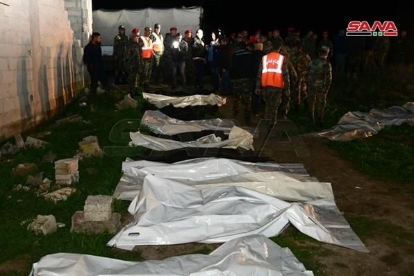 العثور على مقبرة جماعية في غوطة دمشق