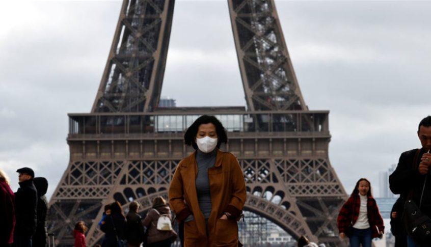 فرنسا.. 1600 إصابة جديدة بفيروس كورونا اليوم