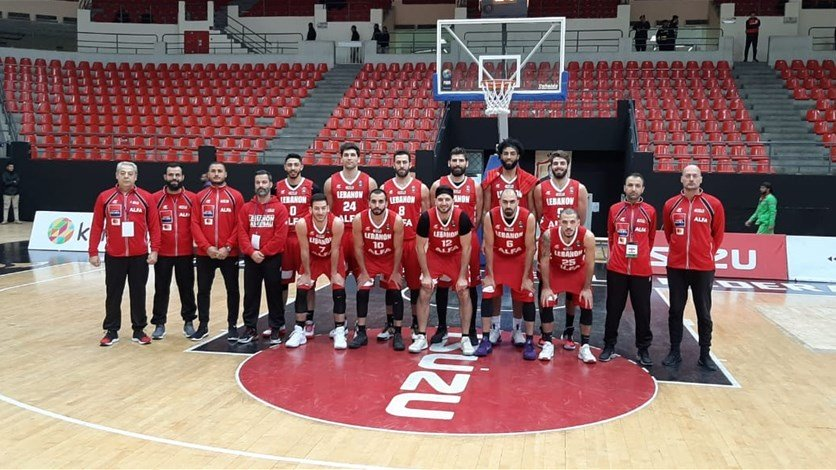 لبنان يفوز على البحرين في تصفيات كأس آسيا 2021 بكرة السلة