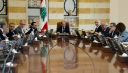 جلسة لمجلس الوزراء في بعبدا للبحث بالتدابير والإجراءات الوقائية ضد كورونا