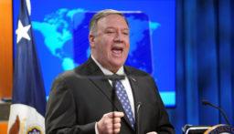 بومبيو يتهم دمشق وموسكو وطهران بتقويض جهود تحقيق الهدنة في سوريا