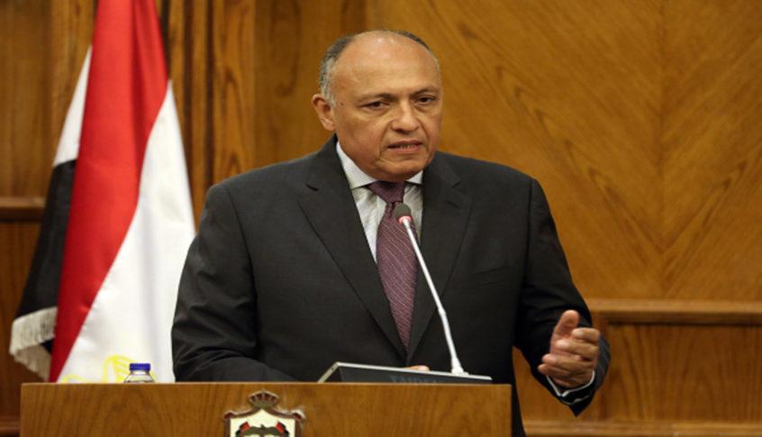 شكري من بيت الوسط: مصر حريصة على أمن لبنان واستقراره ويقتضي إنهاء حالة الجمود الراهنة