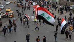 إصابة 9 محتجين عراقيين في تجدد الاشتباكات مع قوات الأمن وسط بغداد