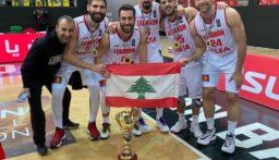 فوز لبنان على العراق في تصفيات كأس آسيا لكرة السلة