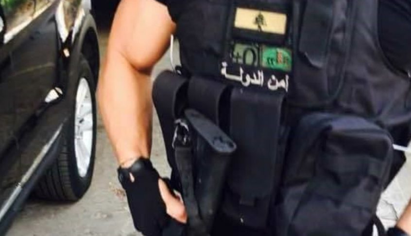 أمن الدولة توقف شقيقين سوريين بحوزتهما اسلحة وذخائر في عكار