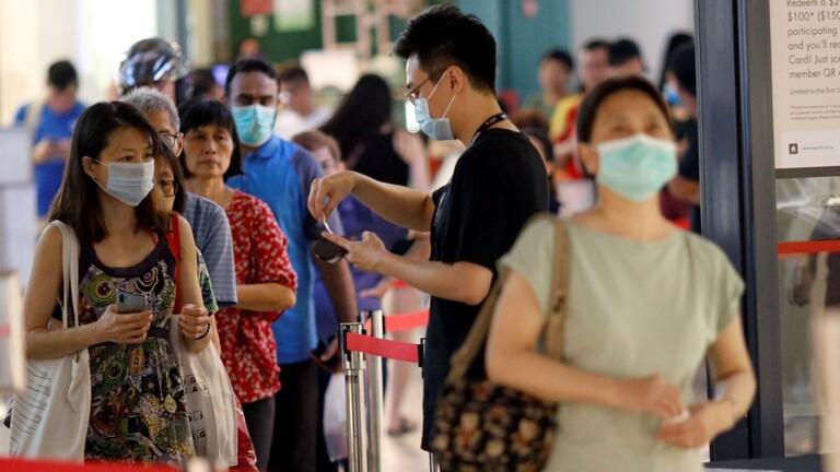 سنغافورة تسجل 611 إصابة جديدة بكورونا