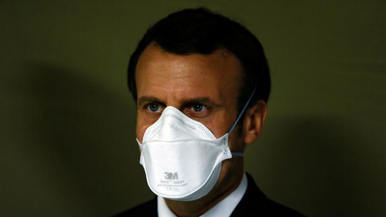 ماكرون يعلن إطلاق عملية للجيش الفرنسي في إطار إجراءات مكافحة كورونا