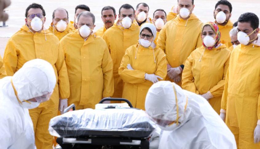 مصر تسجل 11 وفاة جديدة بفيروس كورونا بين أفراد الأطقم الطبية