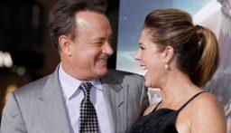 توم هانكس وزوجته يعودان إلى لوس أنجلوس بعد شفائهما من كورونا