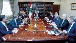 بدء جلسة مجلس الوزراء