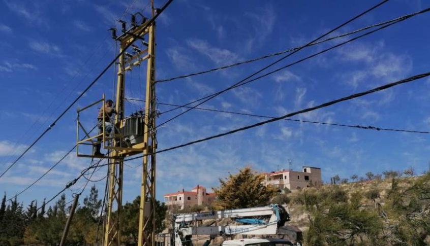 انقطاع الكهرباء بعد سرقة الكابل الرئيسي الذي يغذي الرميلة وعلمان وقسم من الوردانية