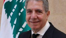 وزير المال بحث وساسين في قرض الصندوق العربي والتقى وفد الجمهورية القوية