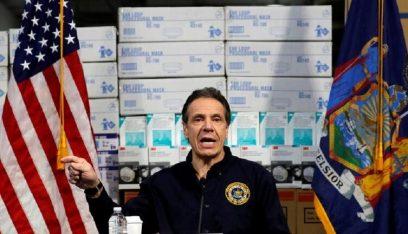 حاكم نيويورك: انخفاض عدد مرضى كورونا في المستشفيات