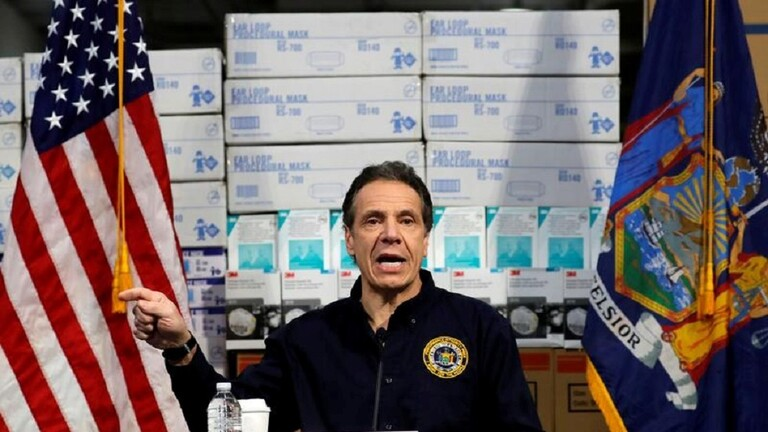 حاكم نيويورك يتهم الكونغرس بالتضييق على الولايات الأكثر تضرراً بكورونا