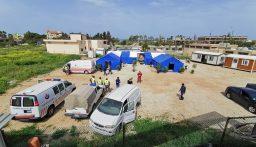 الهيئة الصحية في حزب الله اطلقت العمل بمركز التشخيص الأولي للمصابين بالفيروس في الغازية