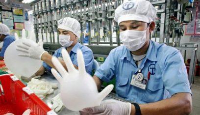 أكبر منتج قفازات في العالم يتوقع عجزا في منتجه مع ارتفاع الطلب