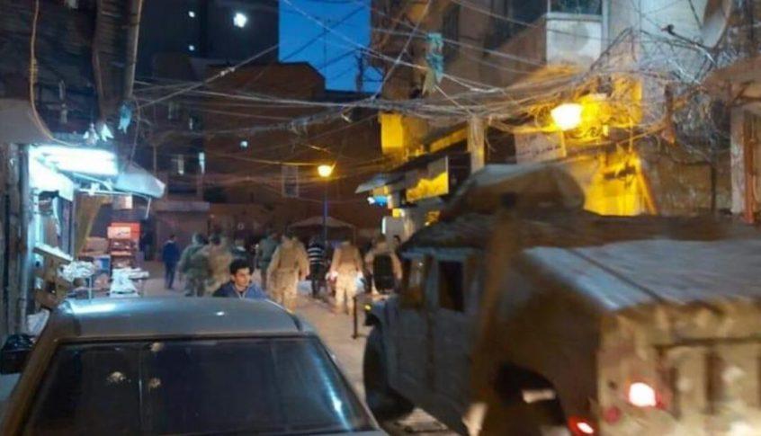 انتشار لوحدات من الجيش في احياء طرابلس