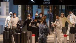 وزارة الصحة: 11 اصابة على متن طائرتي مدريد وباريس!