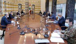 بدء الاجتماع الامني برئاسة الرئيس عون في قصر بعبدا