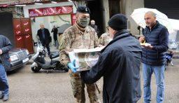 الجيش وزع هبات للعائلات في هذه القرى!