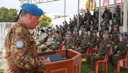 رئيس بعثة اليونيفيل حث جميع الوحدات على المساعدة في منع انتشار فيروس كورونا