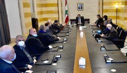 دياب التقى رؤساء اتحادات ونقابات النقل البري
