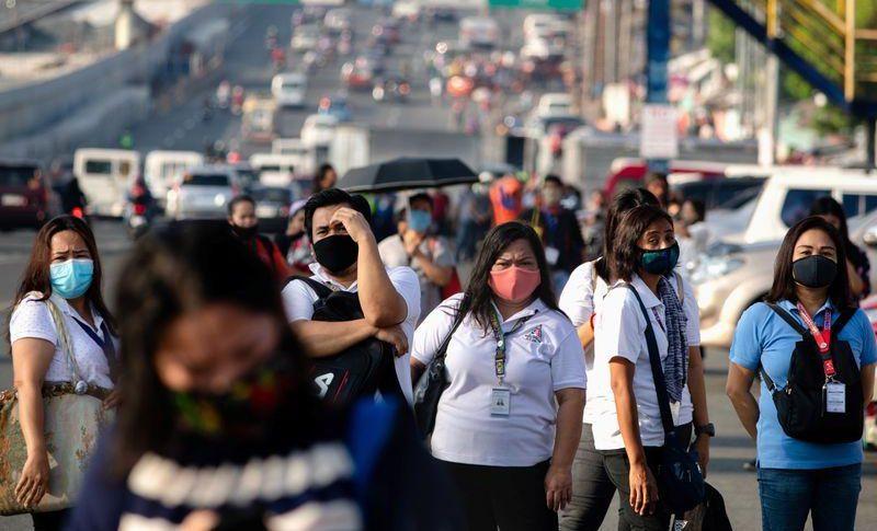 إصابات كورونا المؤكدة في الفلبين تتجاوز 100 ألف